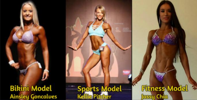 Shaved black bikini female fitness model that ass girl